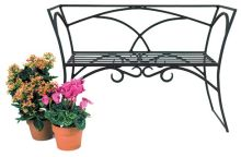 Achla AR03 Arbor Bench With Back
