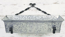 Achla C04 Embossed Flower Box