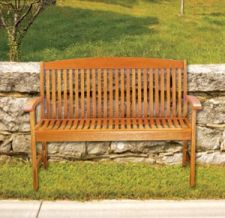 Achla OFB07 Classic Slat Bench4 Foot