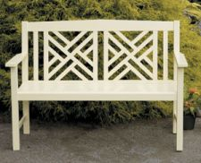 Achla OFB10A Fretwork Bench