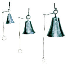 Achla Wrought Iron Bells