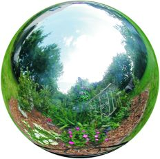 Rome Stainless Steel Gazing Globes