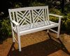 Achla OFB10W Fretwork Bench